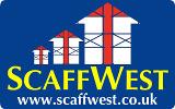 Scaffwest scaffolding services logo
