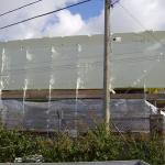 Shrink wrap encapsulation in Hayle to restore an old mill